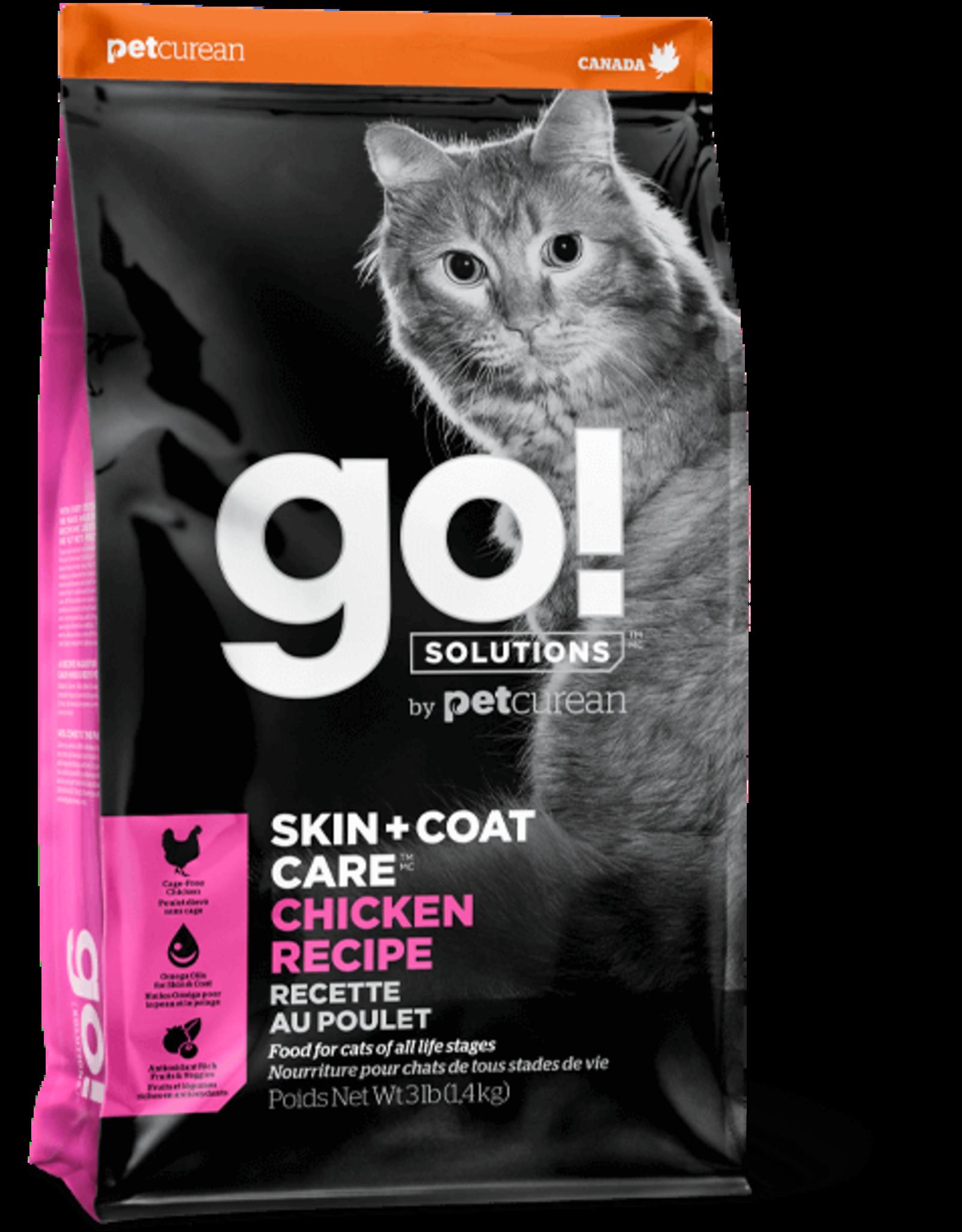 Petcurean GO: cat Chicken 3lb