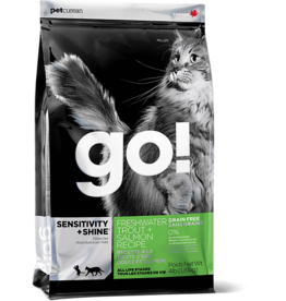 Petcurean GO: cat Trout Salmon 4lb