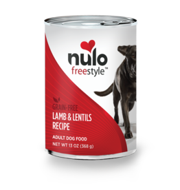 Nulo Nulo: dog Lamb & Lentils 13oz