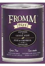 Fromm Fromm: dog Venison and Lentil 12.2oz