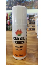 Healthline Nutrition Healthline: CBD Oil Freeze Roll On 500mg 3oz