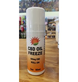 Healthline Nutrition Healthline: CBD Oil Freeze Roll On 500mg 3oz
