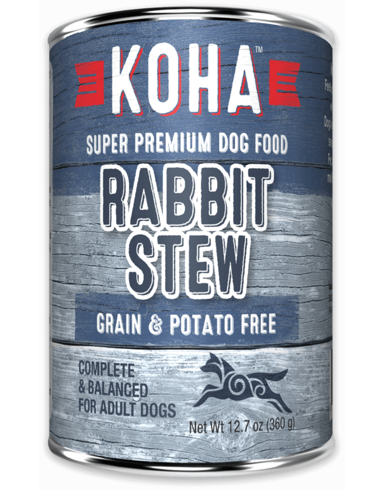 KOHA: dog Rabbit Stew 12.7oz single
