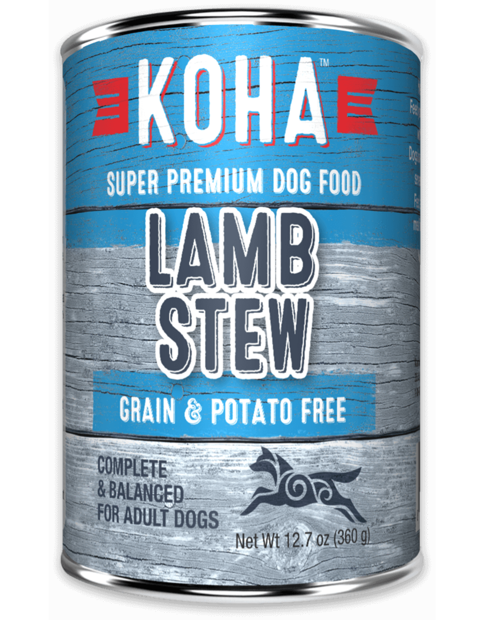 KOHA: dog Lamb Stew 12.7oz single