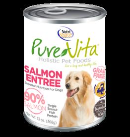 KLN PureVita: dog GF Salmon & Pea 12oz single