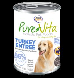KLN PureVita: dog GF Turkey & Liver 12oz single