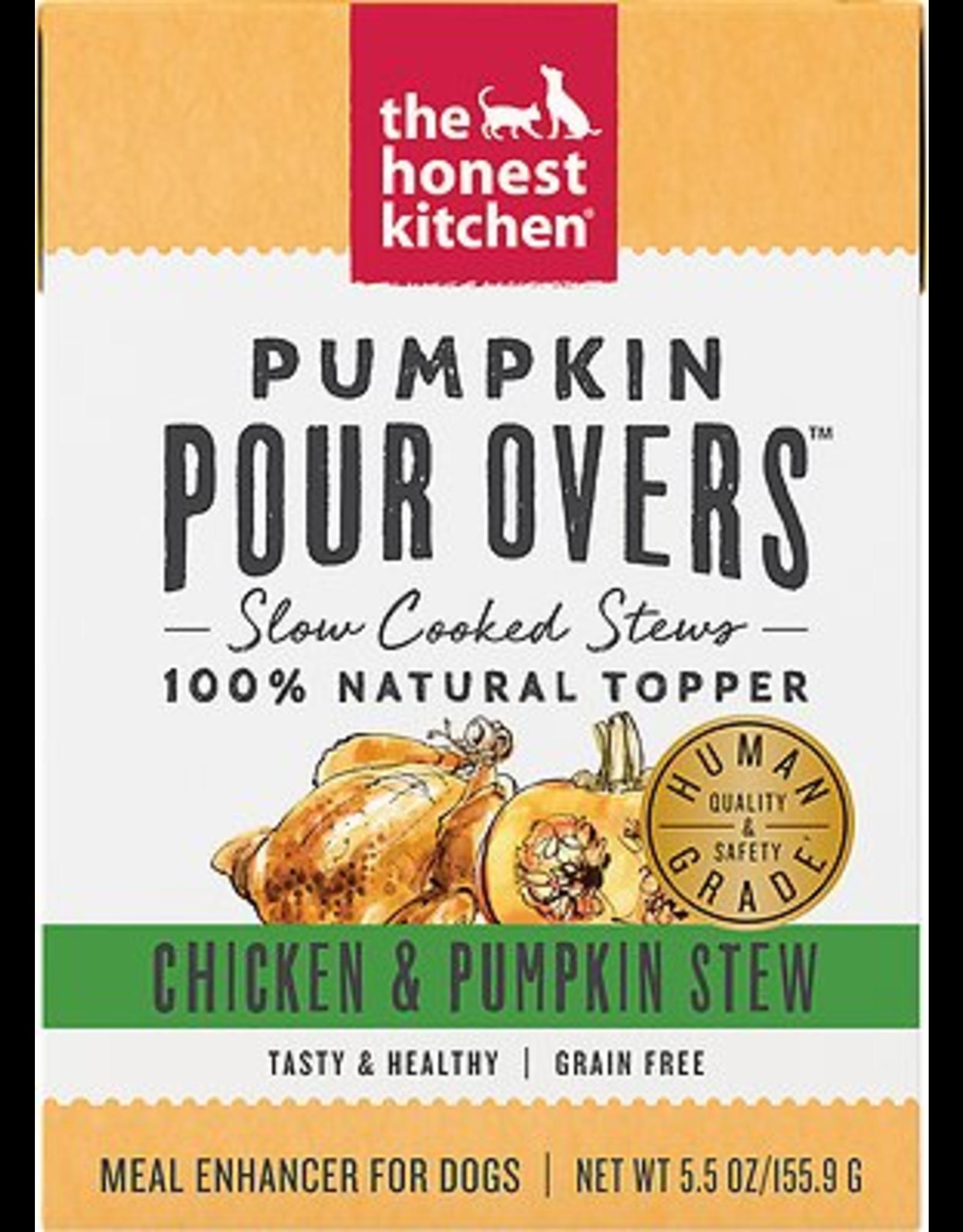 The Honest Kitchen HK: dog Chicken & Pumpkin 5.5oz single