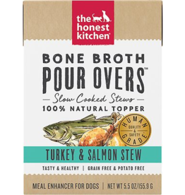 The Honest Kitchen HK: dog Turkey & Salmon Bone Broth 5.5oz single
