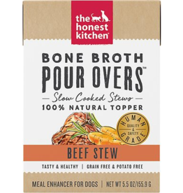 The Honest Kitchen HK: dog Beef Bone Broth 5.5oz single