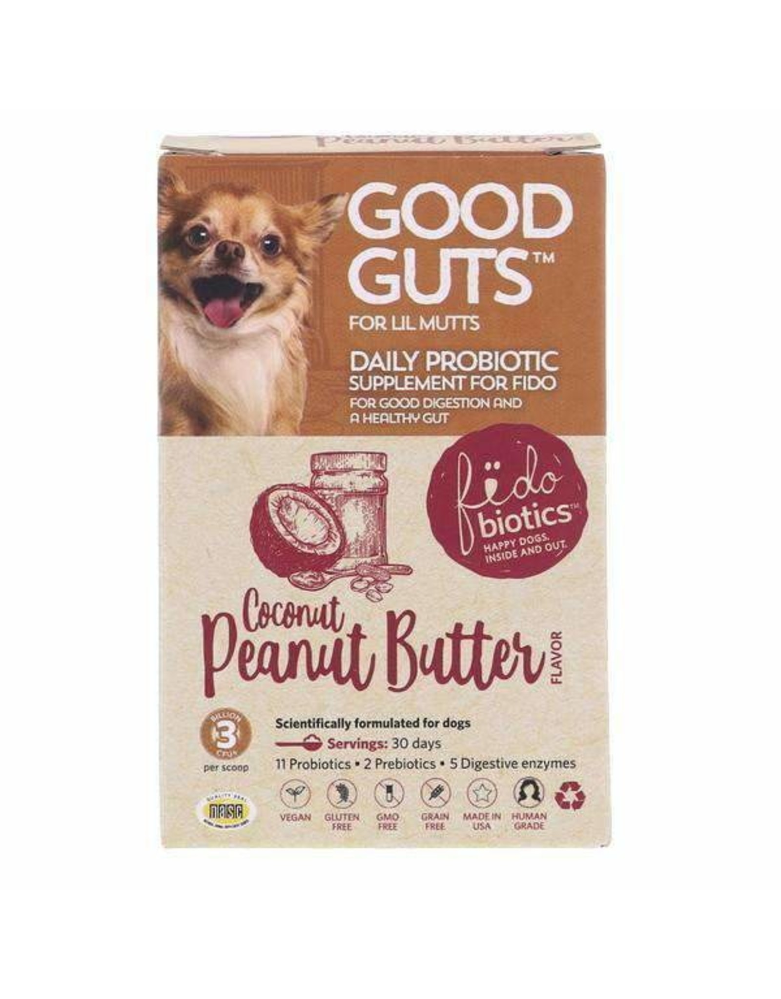 Fidobiotics Fidobiotic: Good Guts Lil Mutts