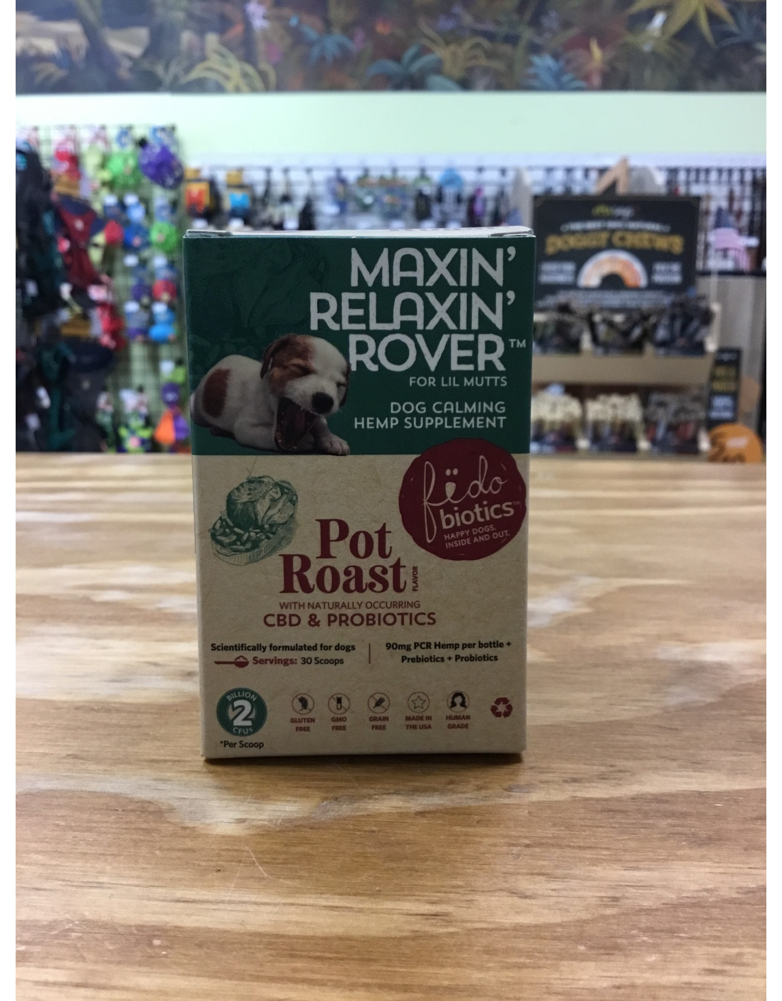 Fidobiotics Fidobiotic: Maxin' Relaxin' Rover Lil