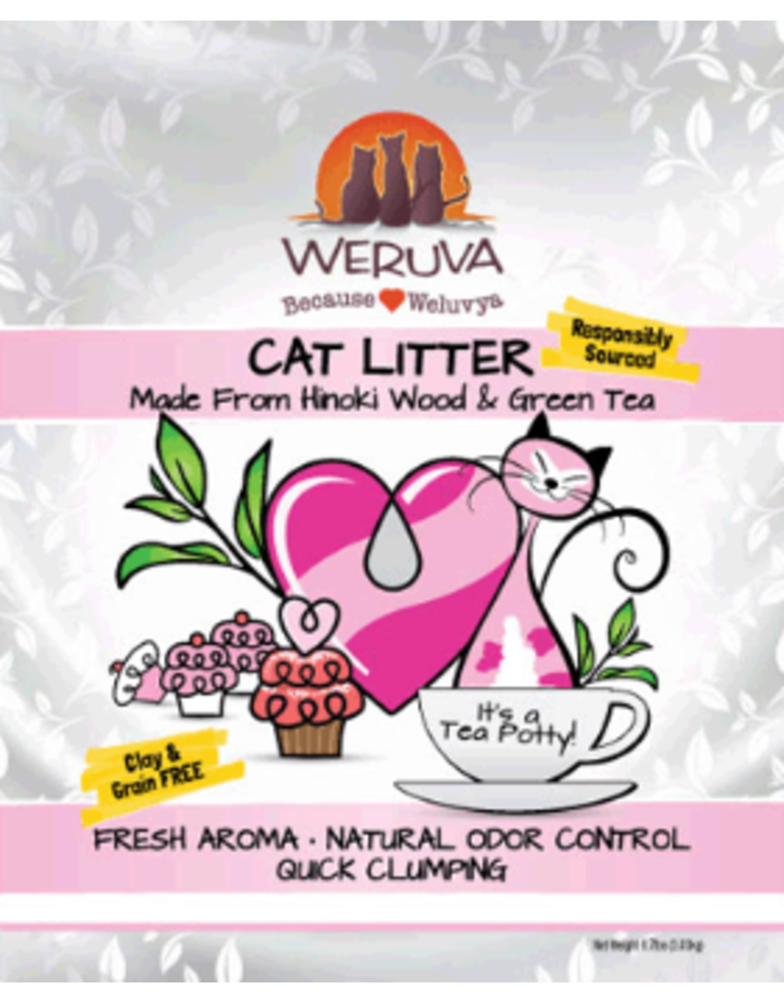 Weruva Weruva: Tea Potty Cat Litter 6.7lb