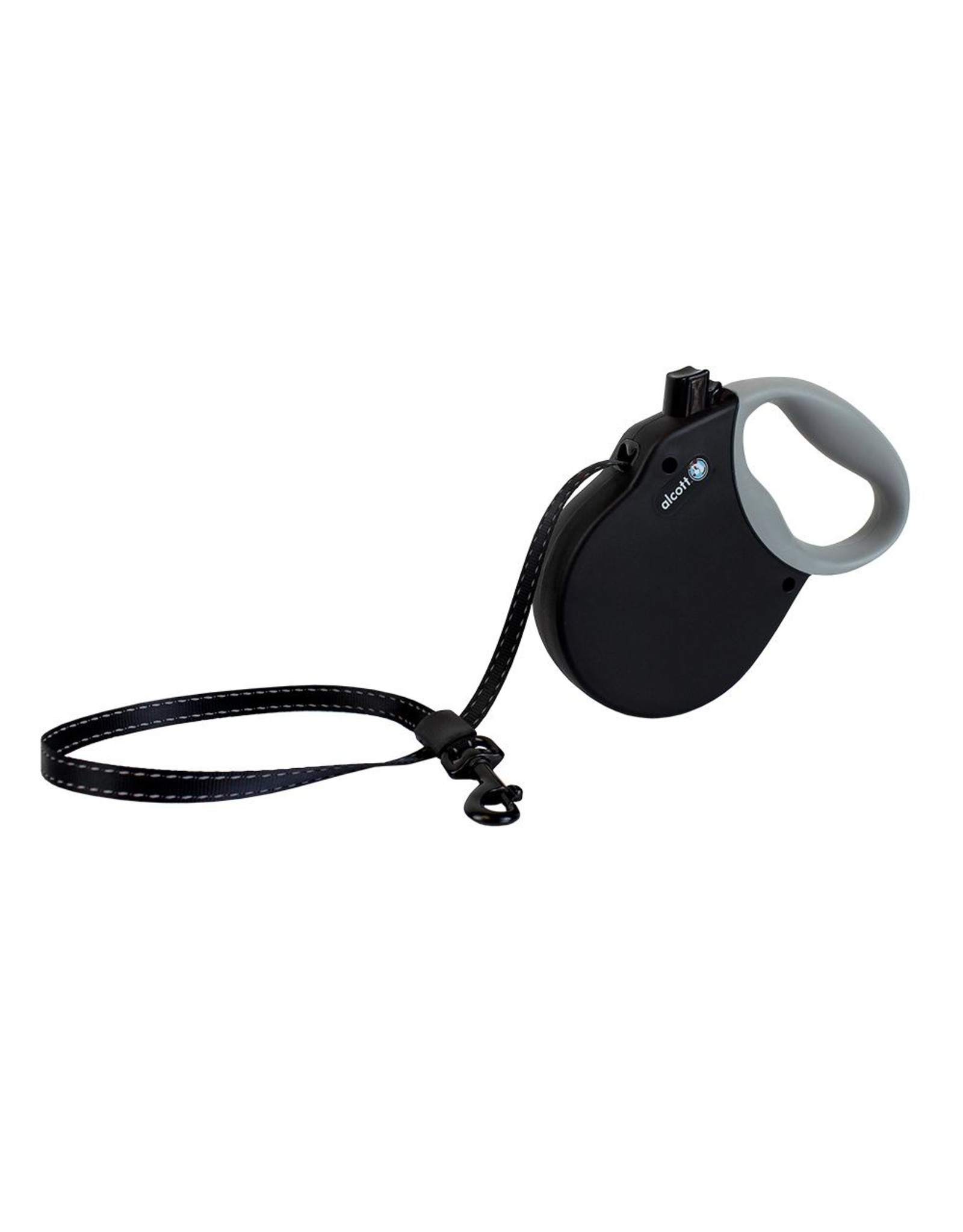 Alcott: Retractable Leash Expedition Med Black