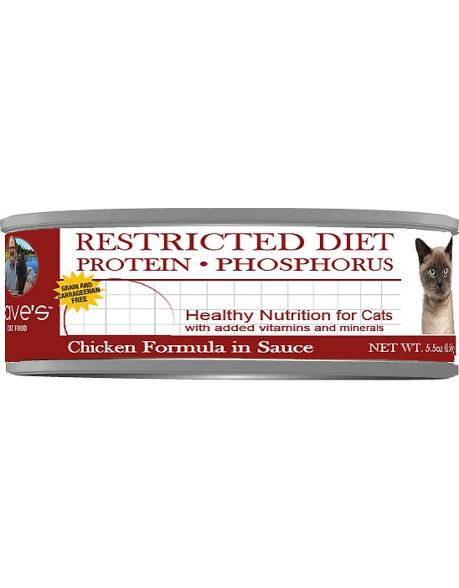 Dave: cat Restricted Magnesium Phosphorus Chicken 5.5oz