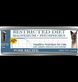 Dave: cat Restricted Magnesium Phosphorus Pork 5.5oz