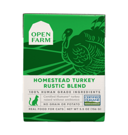 Open Farm Open Farm: cat Turkey Blend 5.5oz single