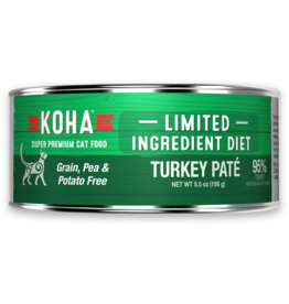 Koha: cat LID Pate GF Turkey 3oz