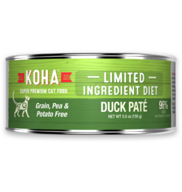 Koha: cat LID Pate GF Duck 3oz
