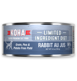 Koha: cat LID Pate GF Rabbit 3oz