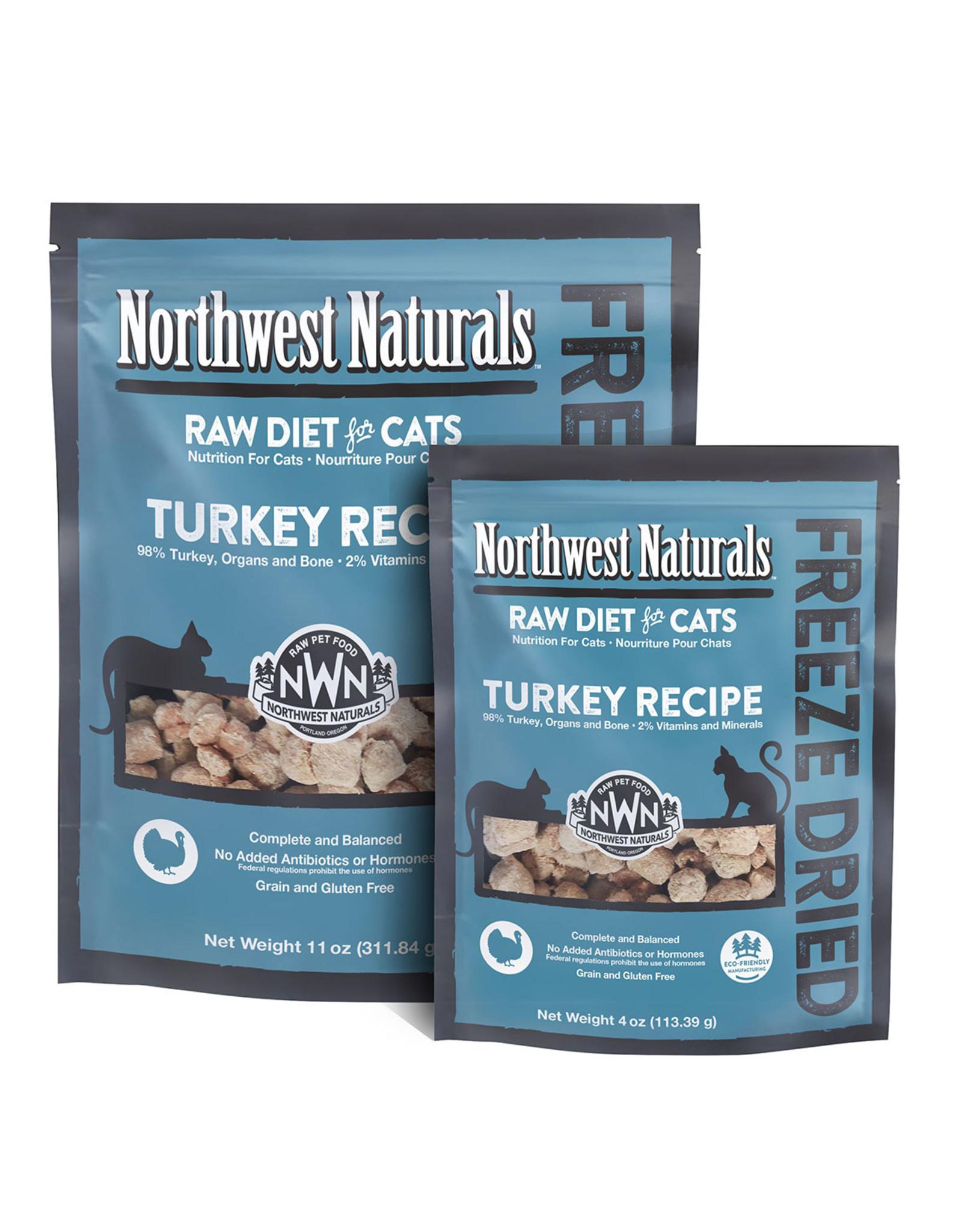 Northwest Naturals NWN: cat FzD Nibbles Turkey 11oz