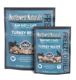 Northwest Naturals NWN: cat FzD Nibbles Turkey 11oz