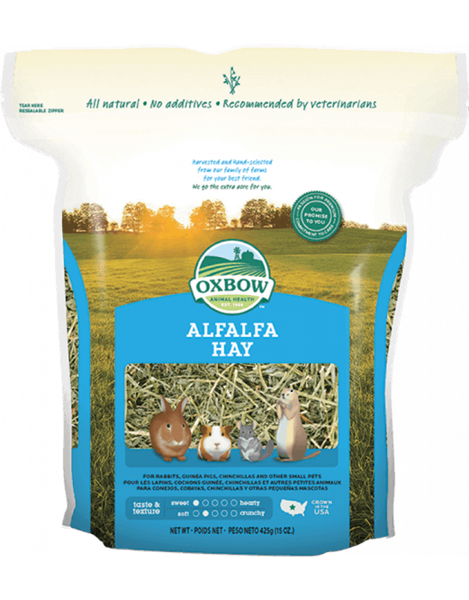 Oxbow Pet Products Oxbow: Alfalfa Hay 15oz