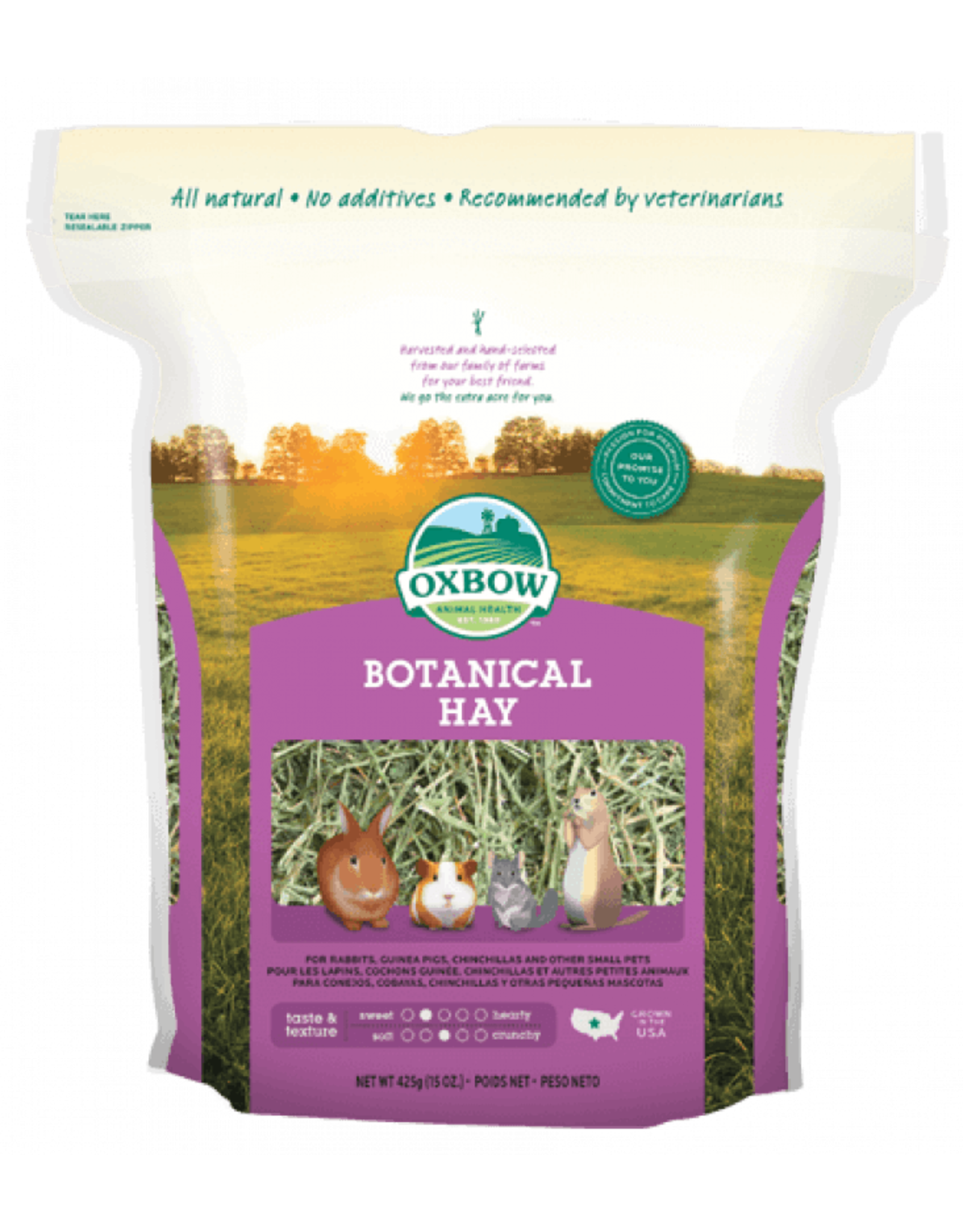 Oxbow Pet Products Oxbow: Botanical Hay 15oz