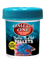 Omega: Betta Buffet Pellets 1oz