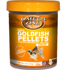 Goldfish Pellets Small 4.2z