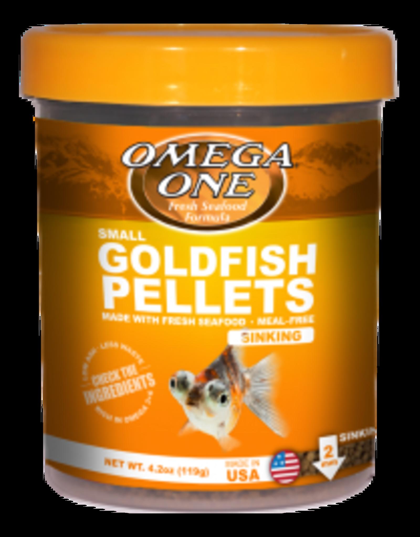 Goldfish Pellets Small 8oz