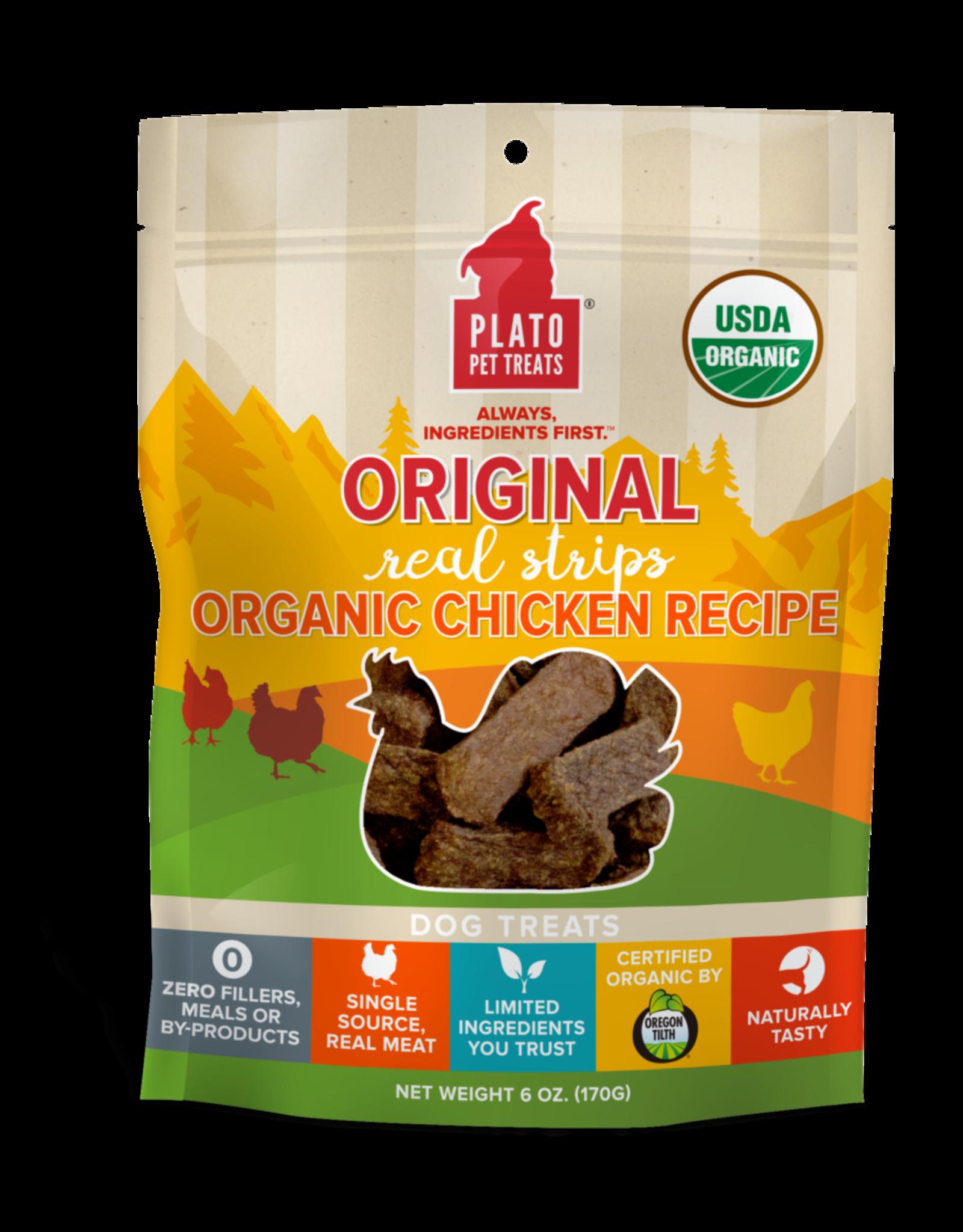 Plato: Organic Chicken Strips 18oz