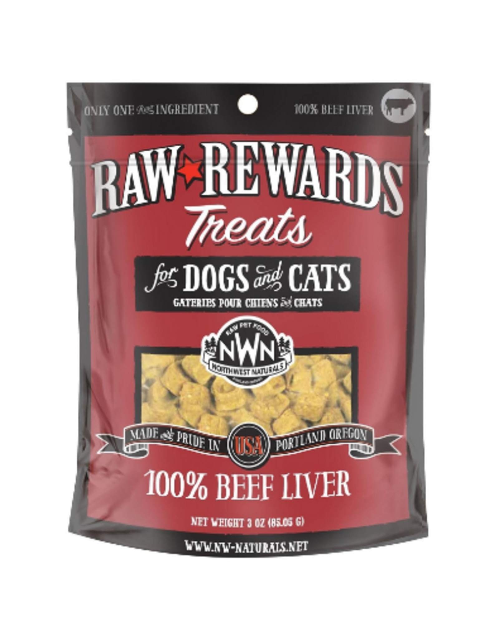 Northwest Naturals NWN: dog FzD Beef Liver Treat 3oz