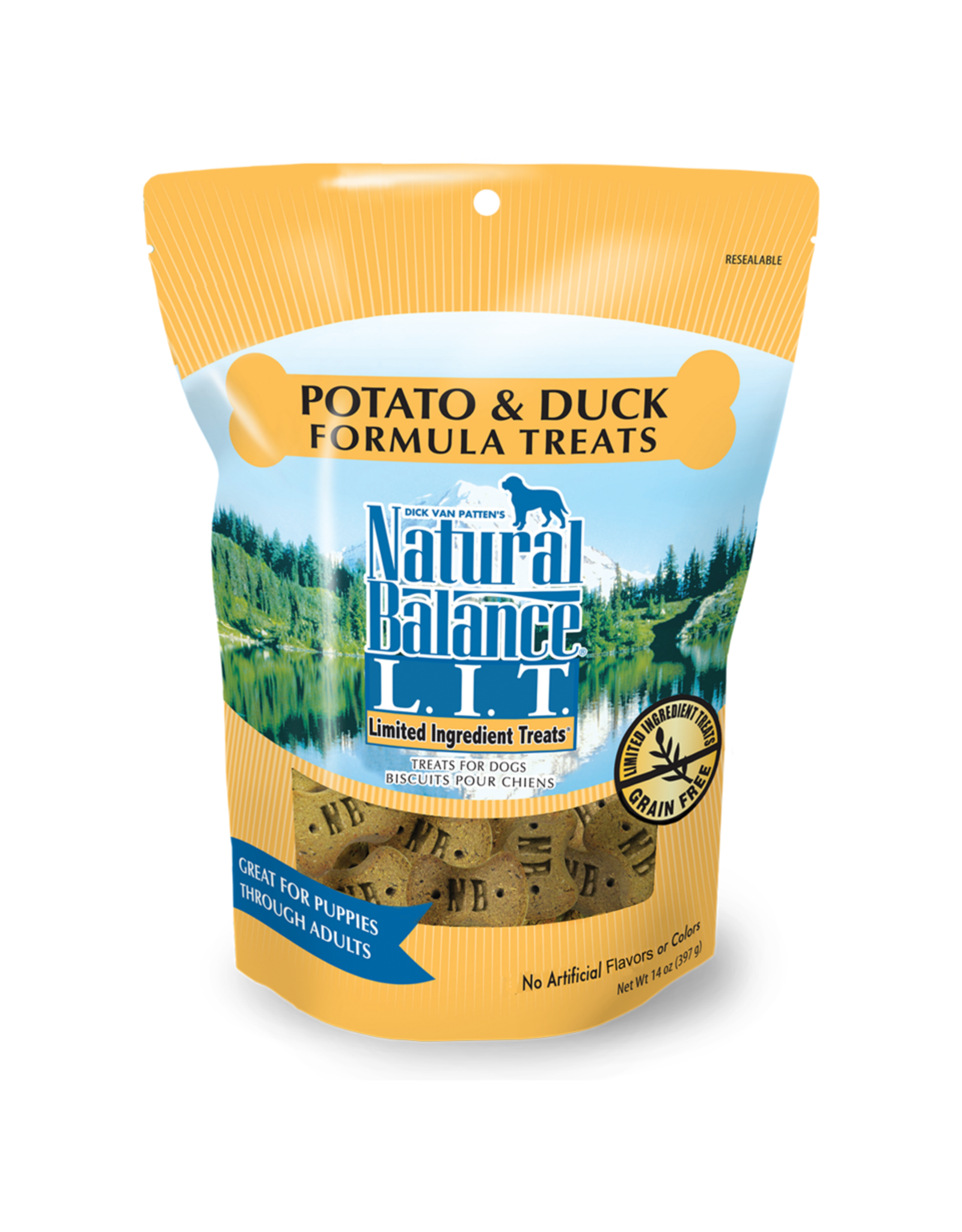 NBP: Potato & Duck Biscuit 14oz