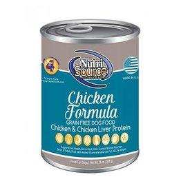 KLN NutriSource: dog Chicken 13oz single
