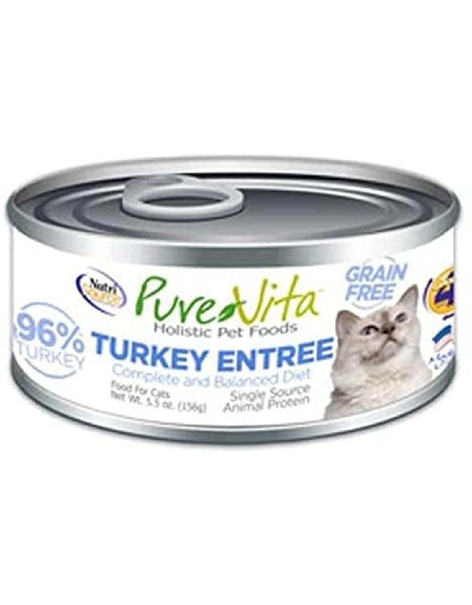 KLN PureVita: cat GF Turkey & Liver 5.5oz single