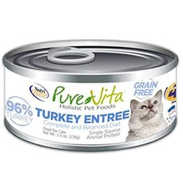 KLN PureVita: cat GF Turkey & Liver 5.5oz single