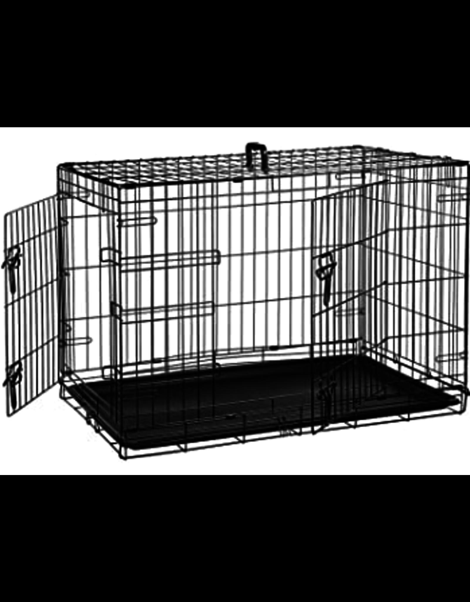"""PCR: 2 Door Wire Crate 42x28"""""""