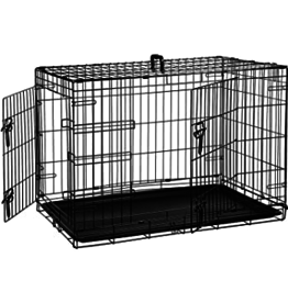 PCR: 2 Door Wire Crate 24x18""