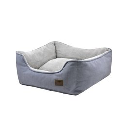 Tall Tails TT: Bolster Bed Charcoal LG