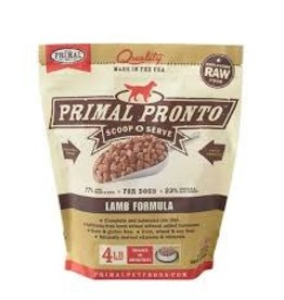 Primal Primal: dog RAW Pronto Lamb 4lb