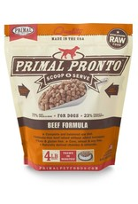 Primal Primal: dog RAW Pronto Beef 4lb