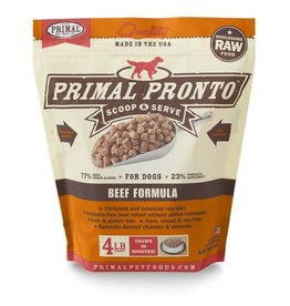 Primal Primal: dog RAW Pronto Beef 4lb