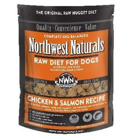 Northwest Naturals NWN: dog RAW Nuggets Chicken/Salmon 6lb