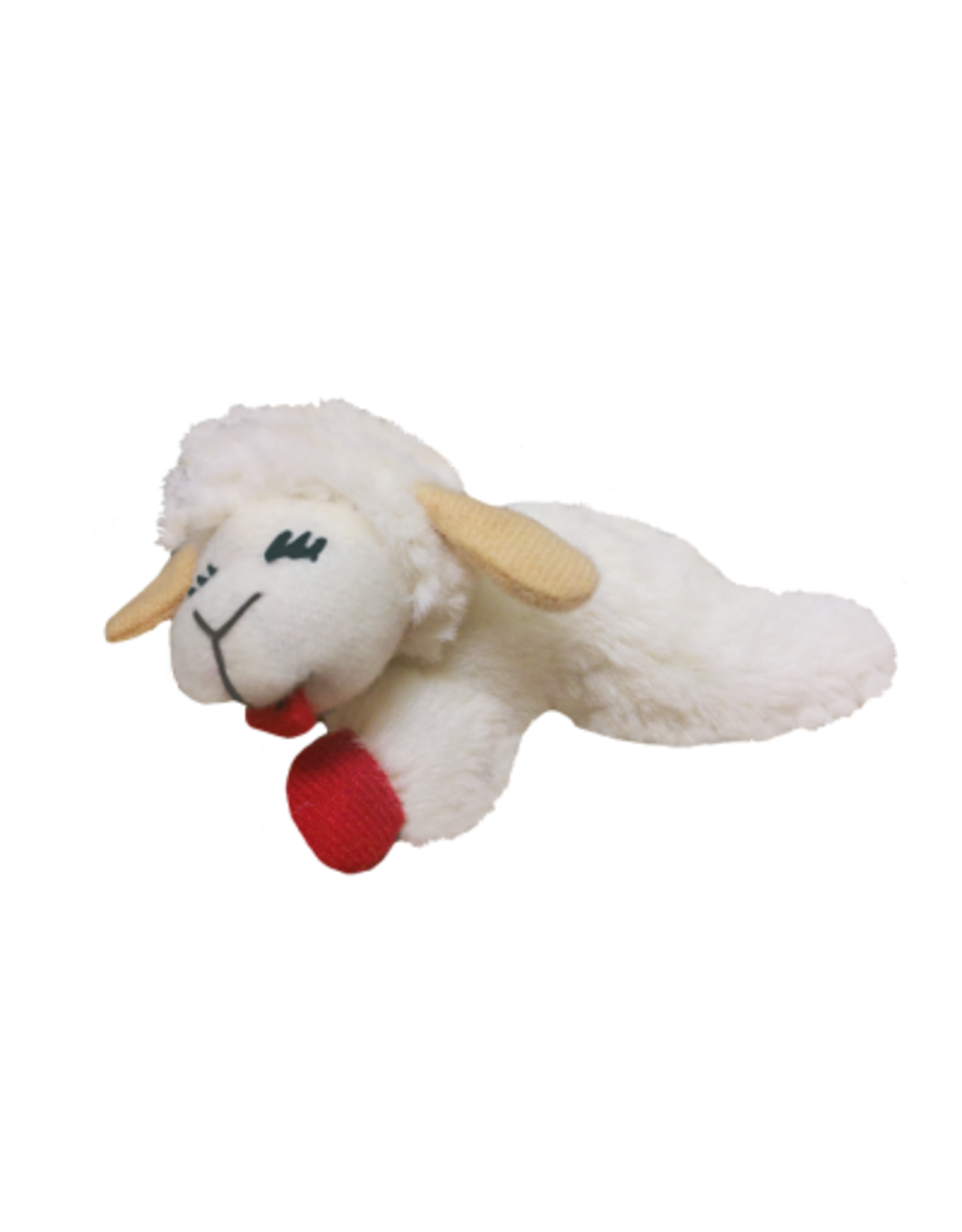 "Multipet: Lamb Chop Cat Toy 4"""