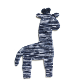 West Paw Designs Westpaw: Floppy Giraffe - Large  Navy Stripe