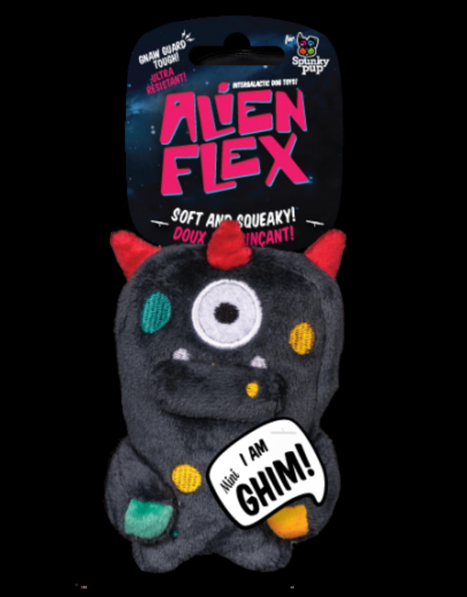 Spunky: Alien Flex Plush Mini Ghim