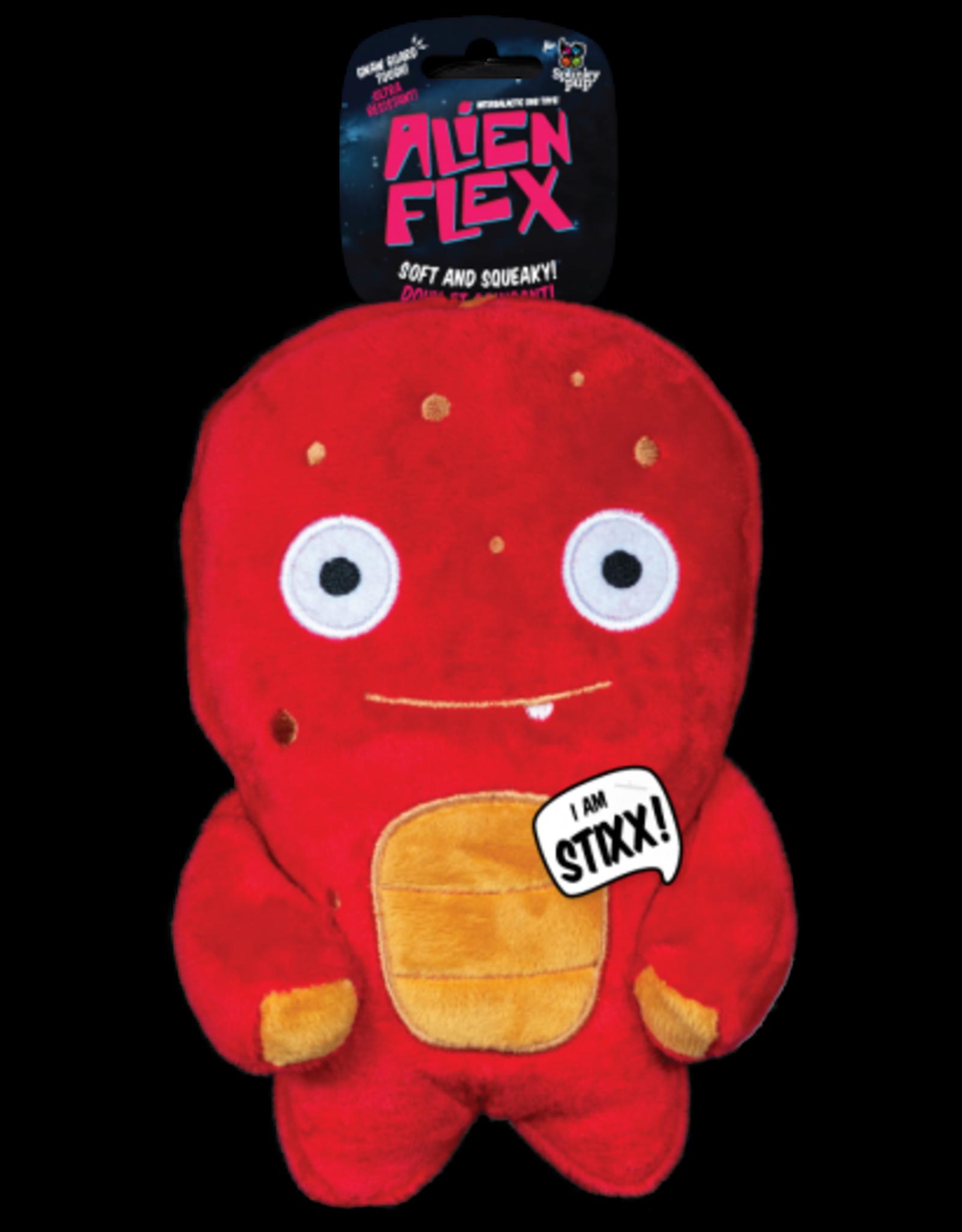 Spunky: Alien Flex Plush Stixx
