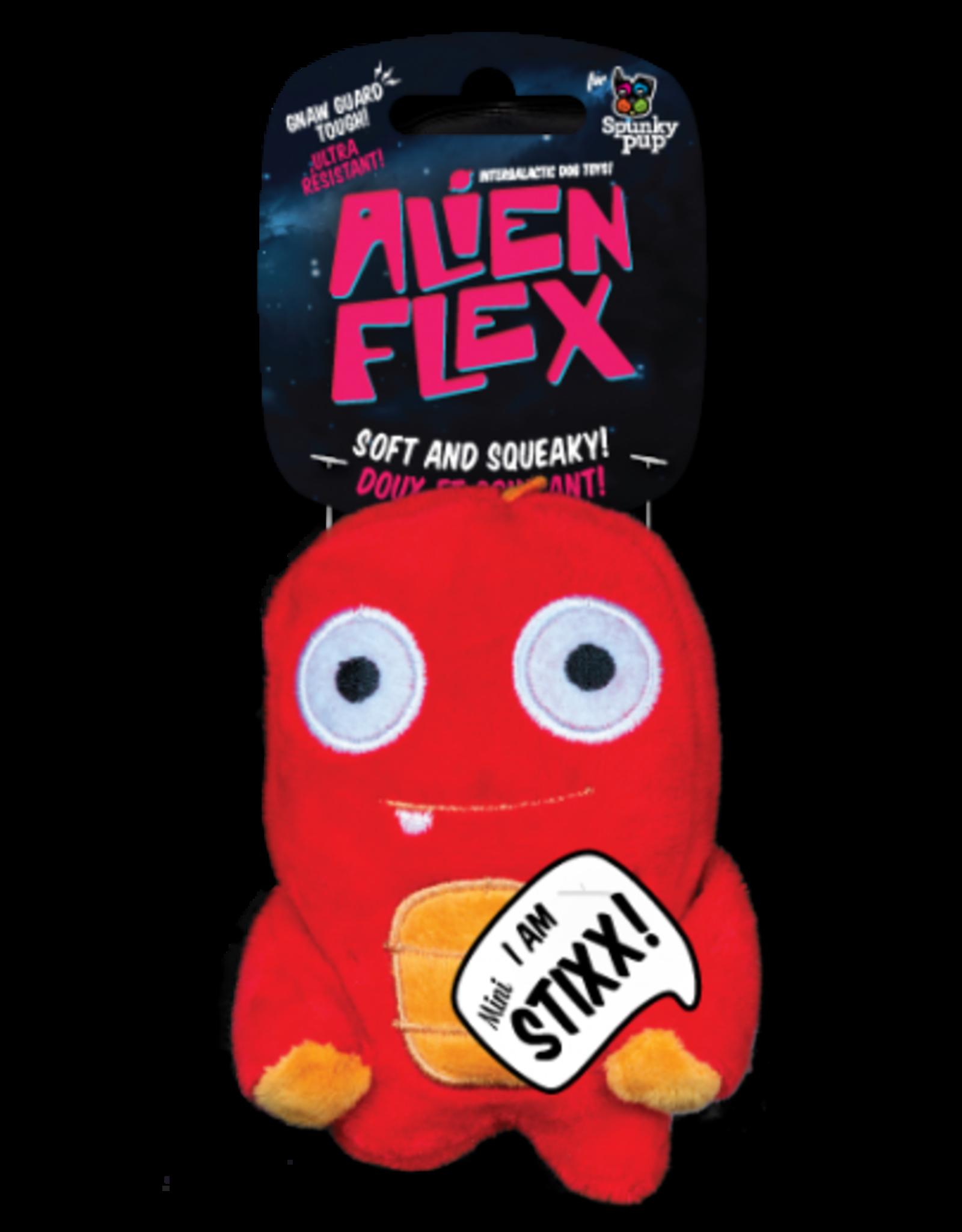 Spunky: Alien Flex Plush Mini Stixx