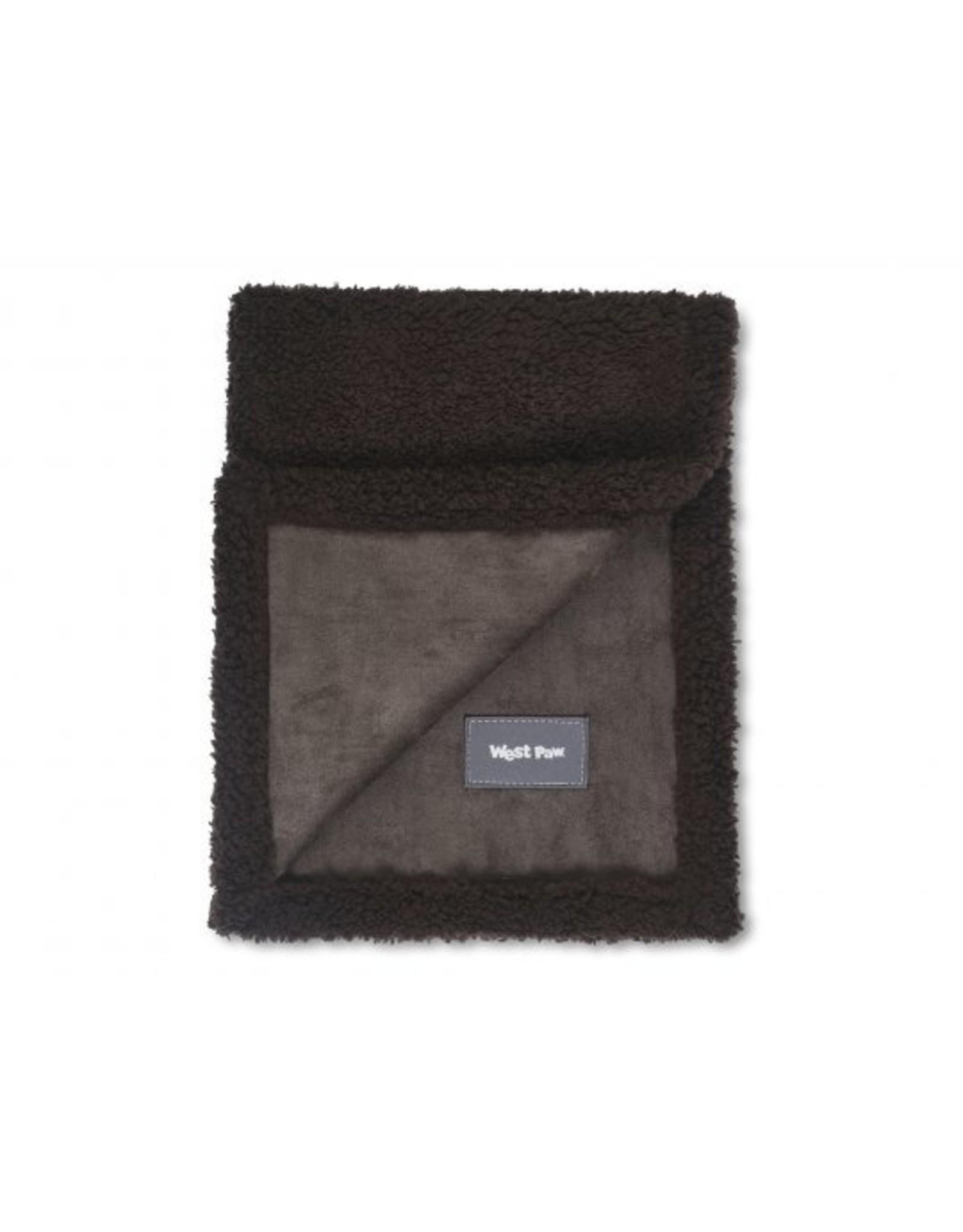 West Paw Designs Westpaw: Big Sky Blanket S 27x21 Chocolate