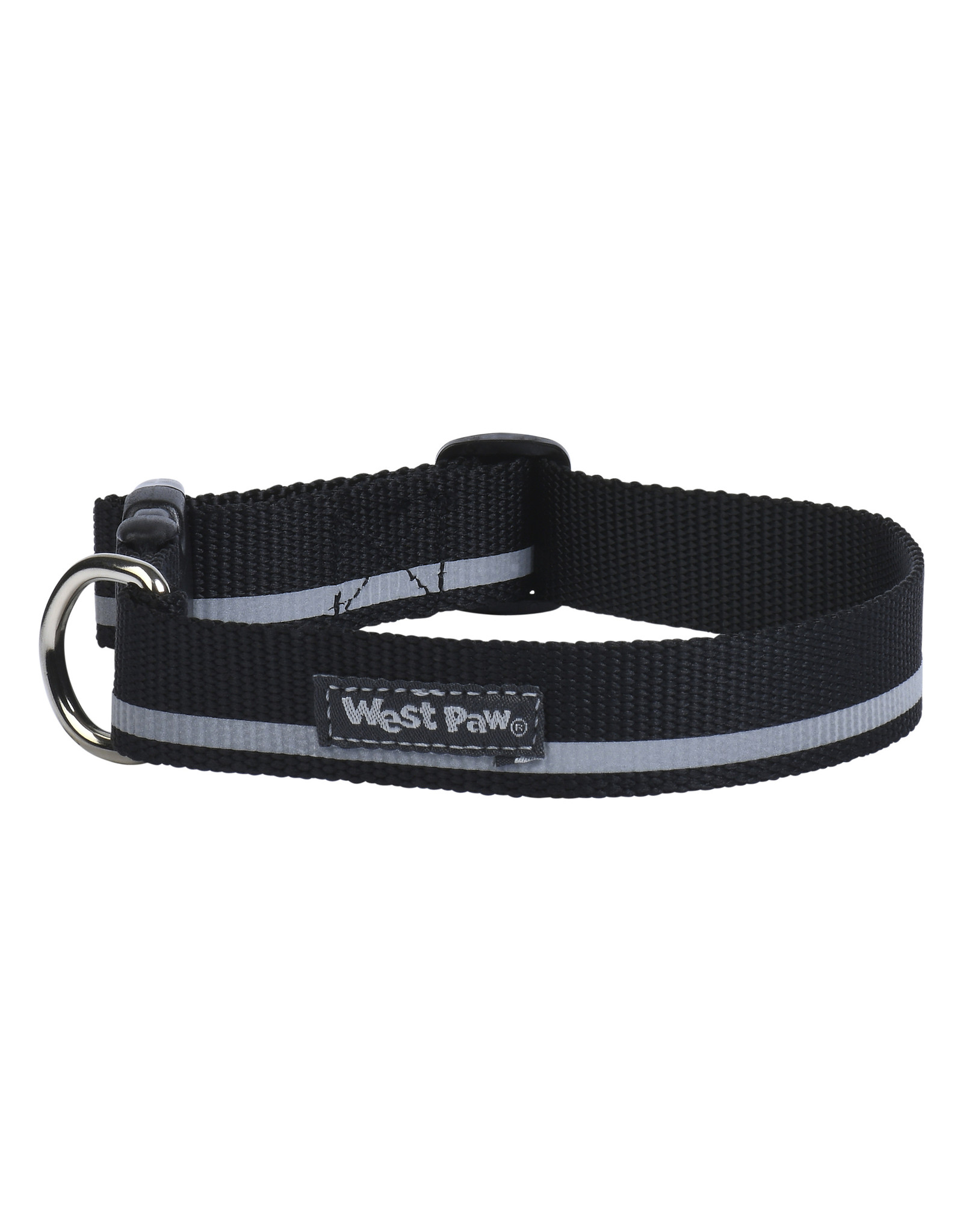 West Paw Designs Westpaw: Strolls Collar Medium Black Reflective